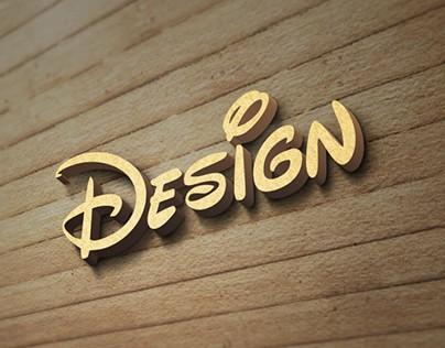 Wood Wall Logo MockUp Free PSD Template