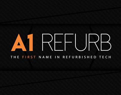 A1 Refurb: Web and Branding Design