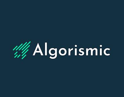 Logo for Algorismic.