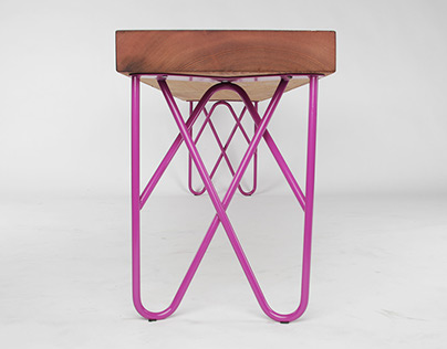 Double Hairpin Legs, Original Powdercoated Steel Design