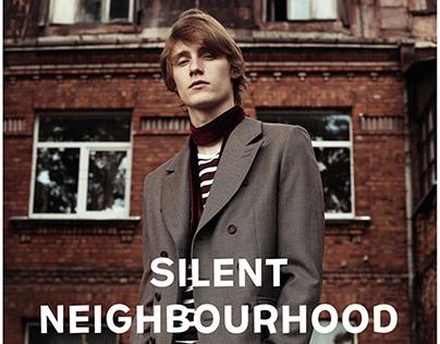 """""""Silent Neighbourhood"""" editorial for REFLEX HOMME mag"""