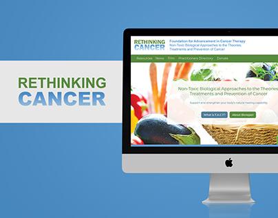 RethinkiCancer.org Web Site Design