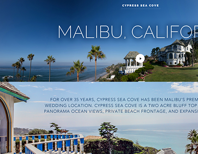 Vacation Real Estate and Event Property Site