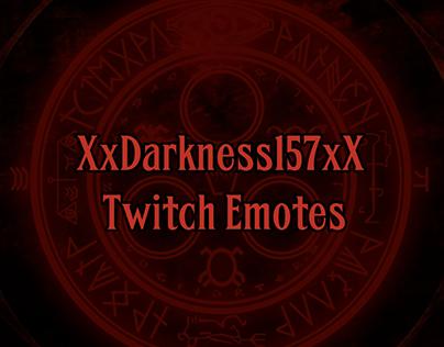 Darkness157 Twitch Emotes