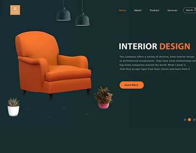 Interior Website Design