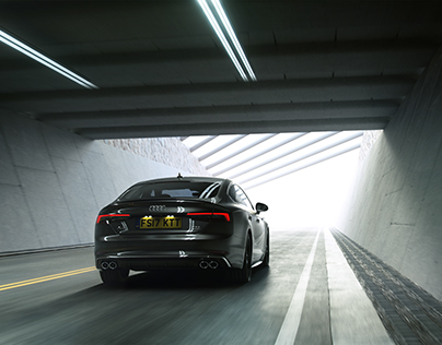 Friendly Shade Test : 02 - Tunnel Shot