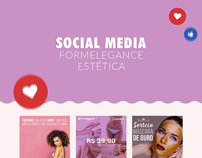Arte para Social Mídia - Cliente Formelegance