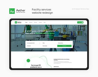 Website Design — Aether