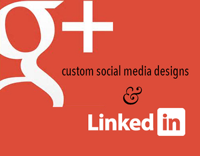 Google and LinkedIn Custom Social Media Headers