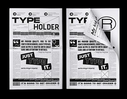 Type Holder Gazette