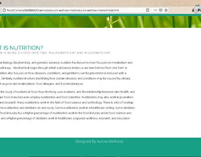 Website UI/Front End Design