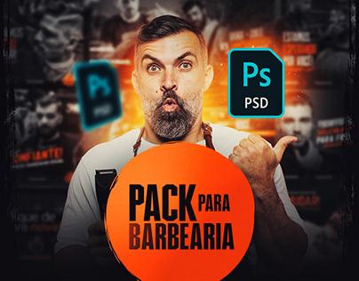 PACK P/ BARBEARIA