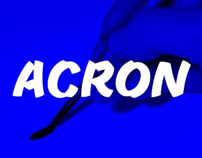 Acron – VolcanoType