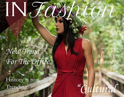 Editorial Styling Portfolio Magazine
