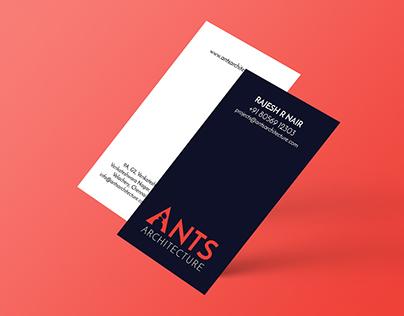 Ants Architecture Logo Design