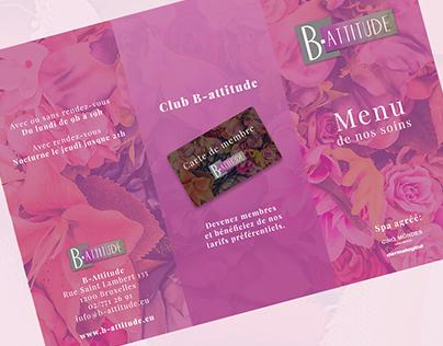 PRINT   Price Folder, Cards,   Beauty & Wellness