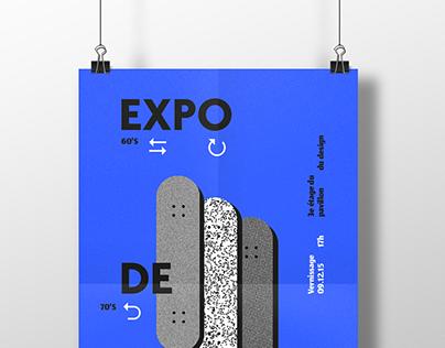 Affiches expo de skate
