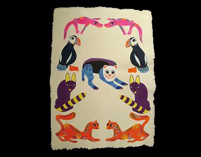 Alebrijes Illustration 2016
