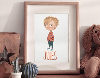 Custom Illustration - KIDS