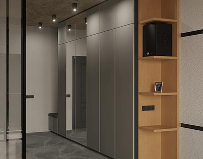 3D Визуализация квартиры-студии