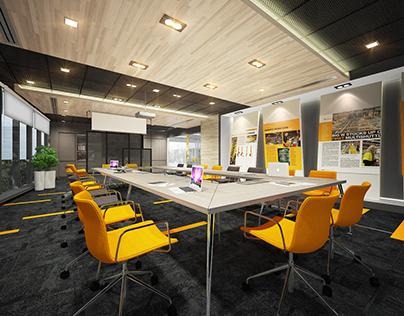 Corporate Office Project @ UOA Business Park, Malaysia