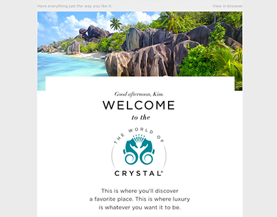 Email Marketing for a Luxury Brand