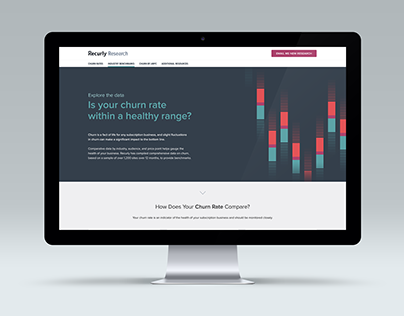 Recurly's Demo Landing Page
