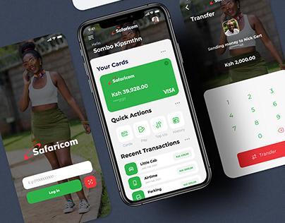 Safaricom App Concept