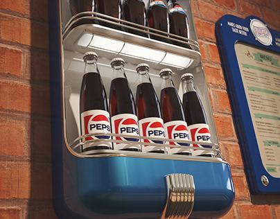 Retro displays for Pepsico.