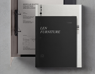 Len Furniture Editorial and Web Design