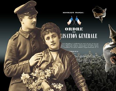 ETRE D'AILLEURS EN TEMPS DE GUERRE (1914-1918)