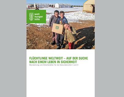 Titelseite: FLÜCHTLINGE WELTWEIT