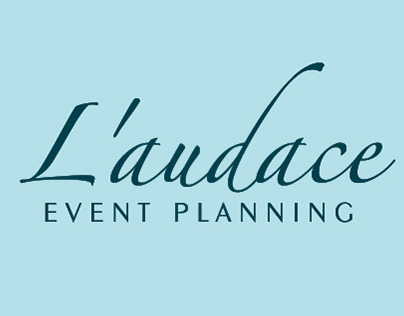 Business Card for Event Company L'audace