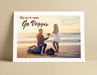 Go Veggie (Poster Design)