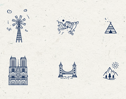 Illustration_04 : Lineart illustrations and icons