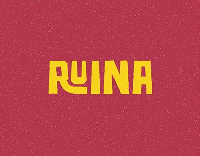 Free Font-RUINA