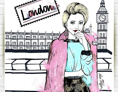 Fashion Illustration II_hand draw