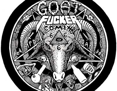 Goat Fucker Badge