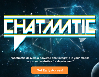 Chatmatic Web Mockup