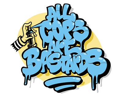 All cops are bastard-Typism project