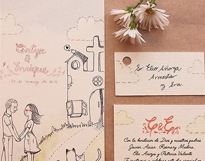 Tarjetita de Boda / Little wedding card