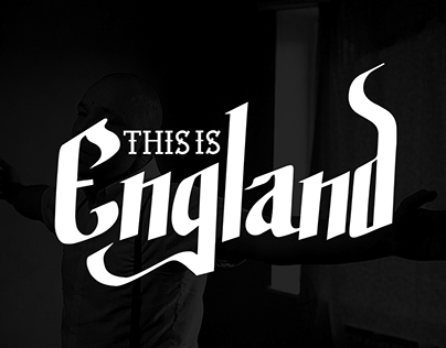 This Is England Lettering Logo