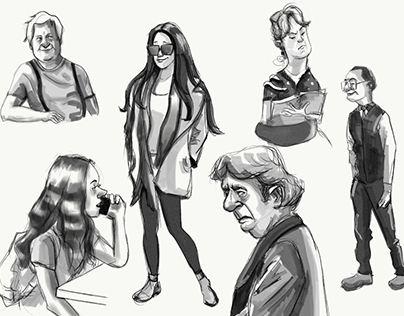People Sketches