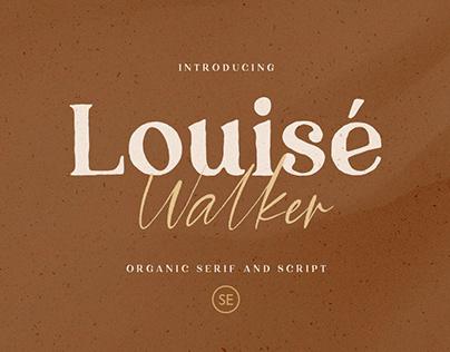 Louise Walker - Free Font Duo