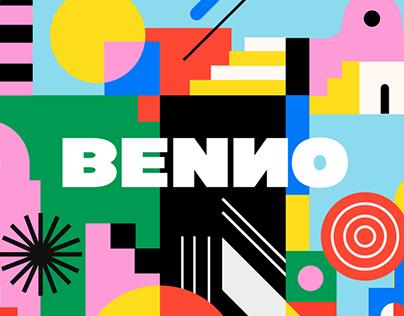 Benno Logo and brand identity