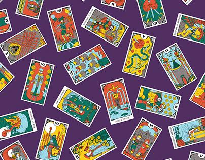 Minor Arcana Tarot Card Illustrations