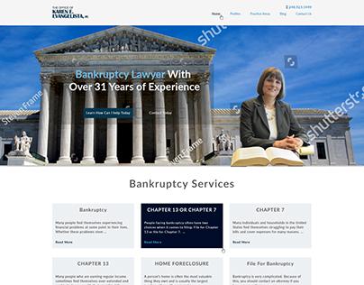 Lawyer Attorney website design