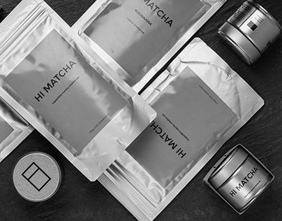 Hi Matcha Branding / Packaging