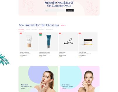 Teta - WooCommerce WordPress theme - cosmetics shop