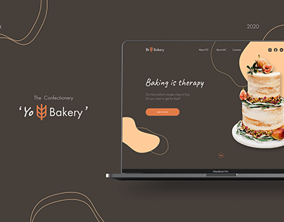 Landing page for Confectionery/ for MasterClass